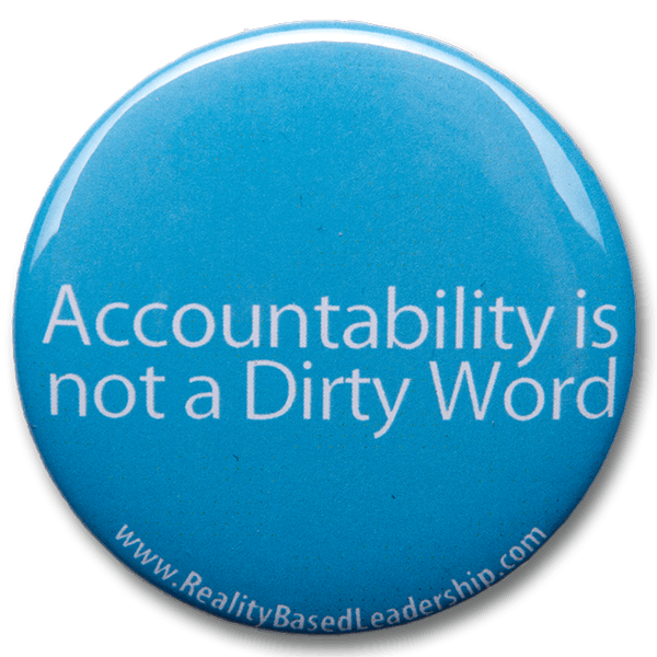accountability not a dirty word