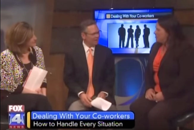 WDAF News Clip - Reality-Based Rules of the Workplace 2